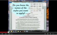 Business Shortcut Keyboard Video