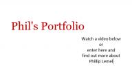 Phil's Portfolio